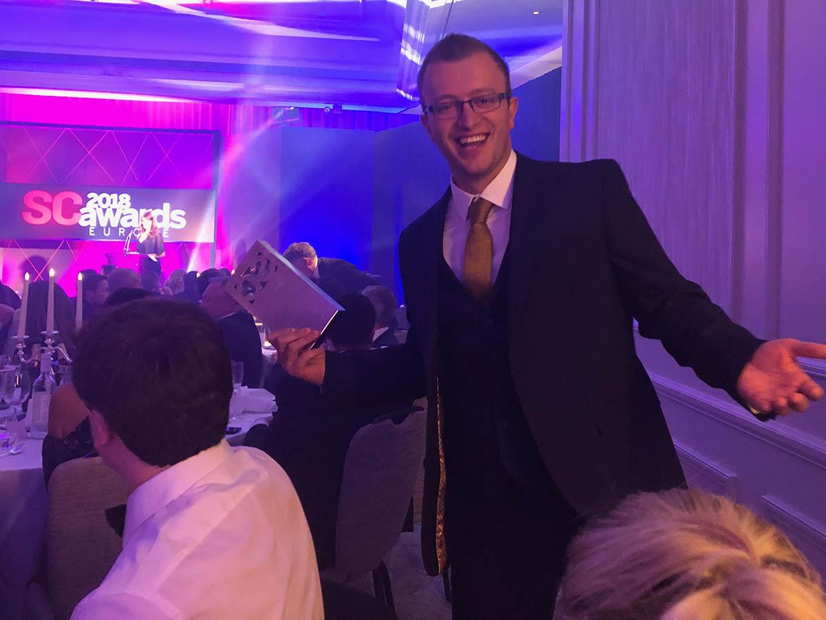 Scott returning with the award