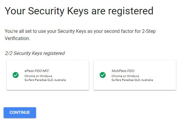 Beyond Passwords: 2FA, U2F and Google Advanced Protection