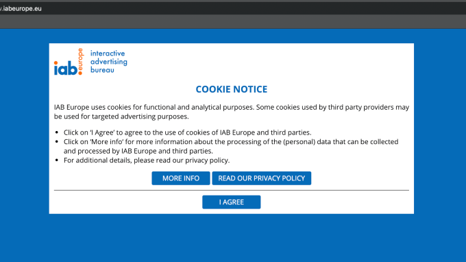 These Cookie Warning Shenanigans Have Got to Stop
