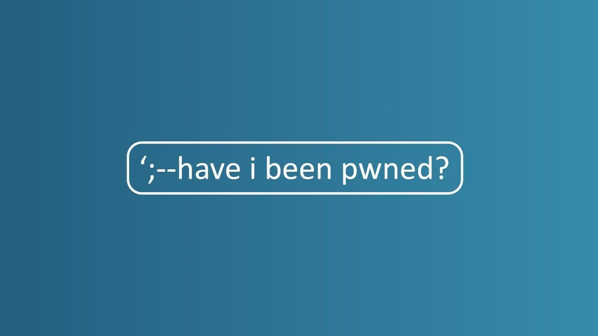 Troy Hunt: Authentication and the Have I Been Pwned API