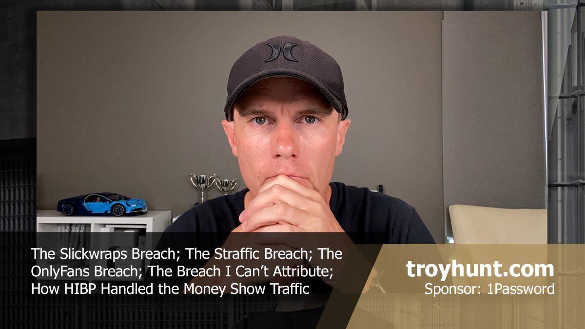 Troy Hunt Weekly Update 180